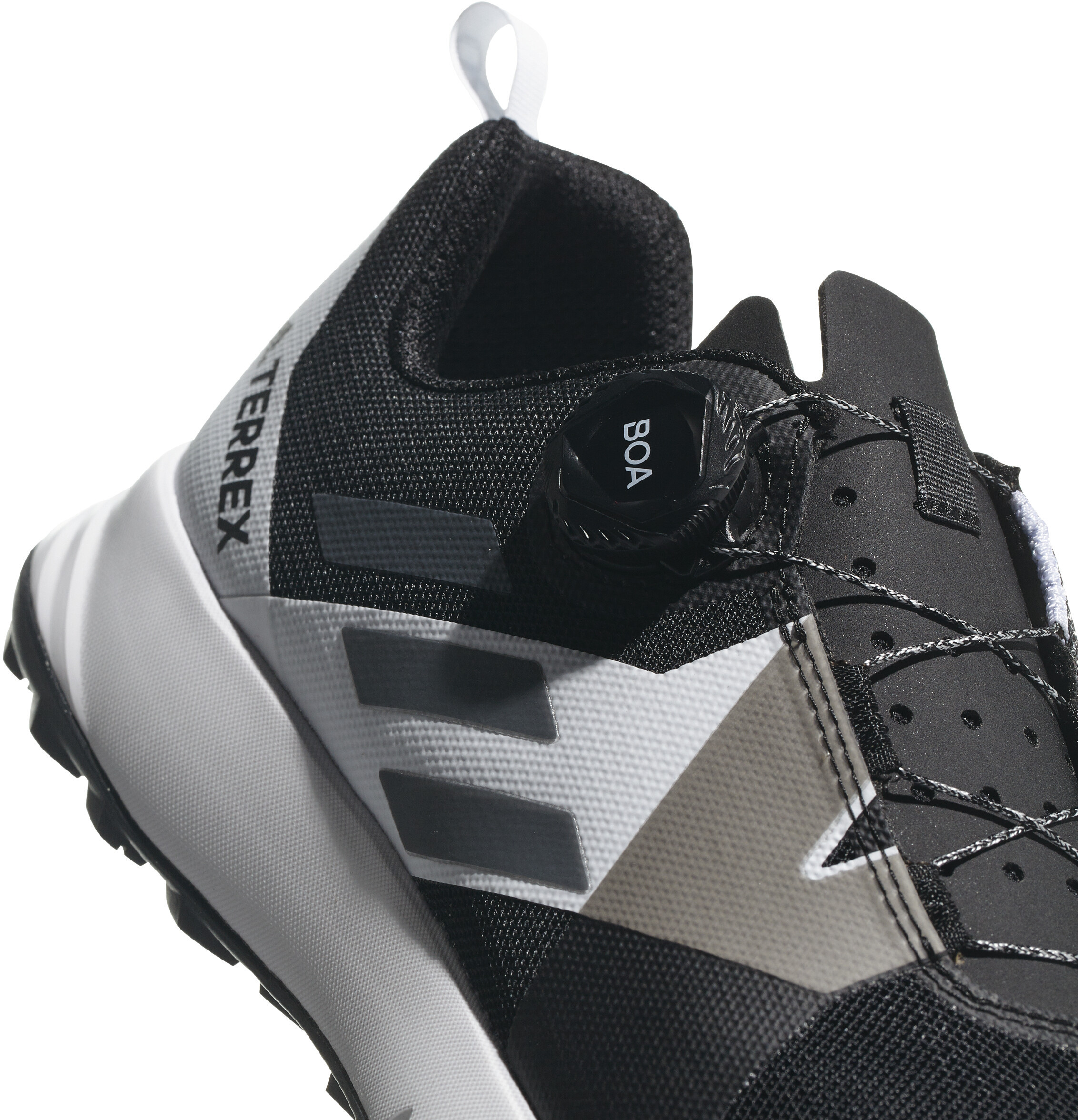 premium selection 546c1 d27c7 adidas TERREX Two Boa - Chaussures running Homme - blanc noir
